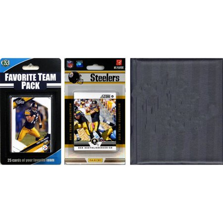 C&I Collectables NFL Pittsburgh Steelers Licensed 2012 Score Team Set and Favorite Player Trading Card Pack Plus Storage Album](Halloween Store Pittsburgh)