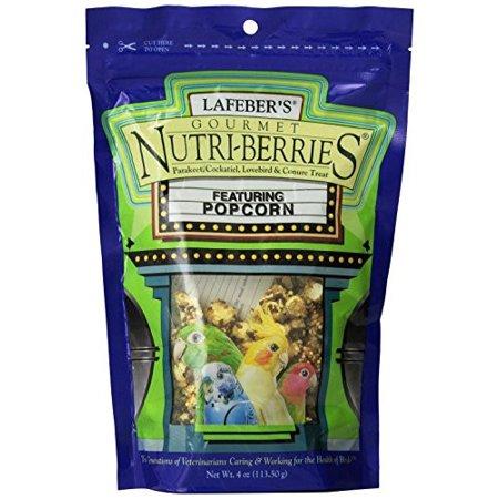 Lafeber's Nutri-Berries with Popcorn Gourmet Treat, 4-Oz