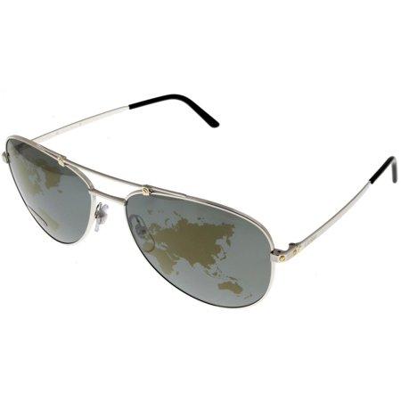 Cartier Sunglasses Santos Dumont Horizon World Map Polarizing Mirror (Cartier Sun Glasses)