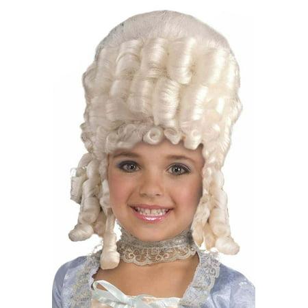 Wig Marie Antoinette (Child Marie Antoinette Wig)