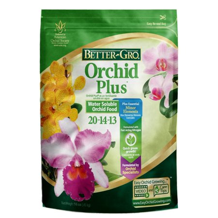 Gro Orchid - Better-Gro 1 lb. Orchid Plus Fertilizer, Better-Gro Orchid Plus water soluble fertilizer By BetterGro
