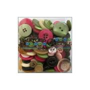 Buttons Galore Button Tote 3.5oz Rose Garden