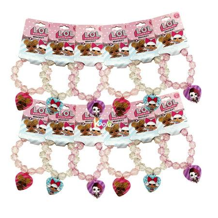 Party Favor Bracelet (LOL Surprise! 12pcs Bracelet Merch Fashion Jewelry Accessories Girl Party Favor)