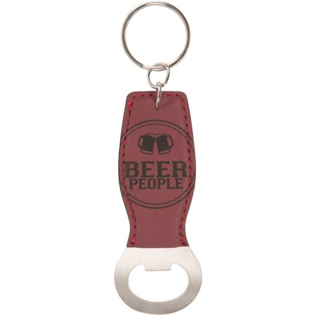 Beer Key Chain Bottle - Pavilion - Beer People - Red Key Chain Bottle Opener