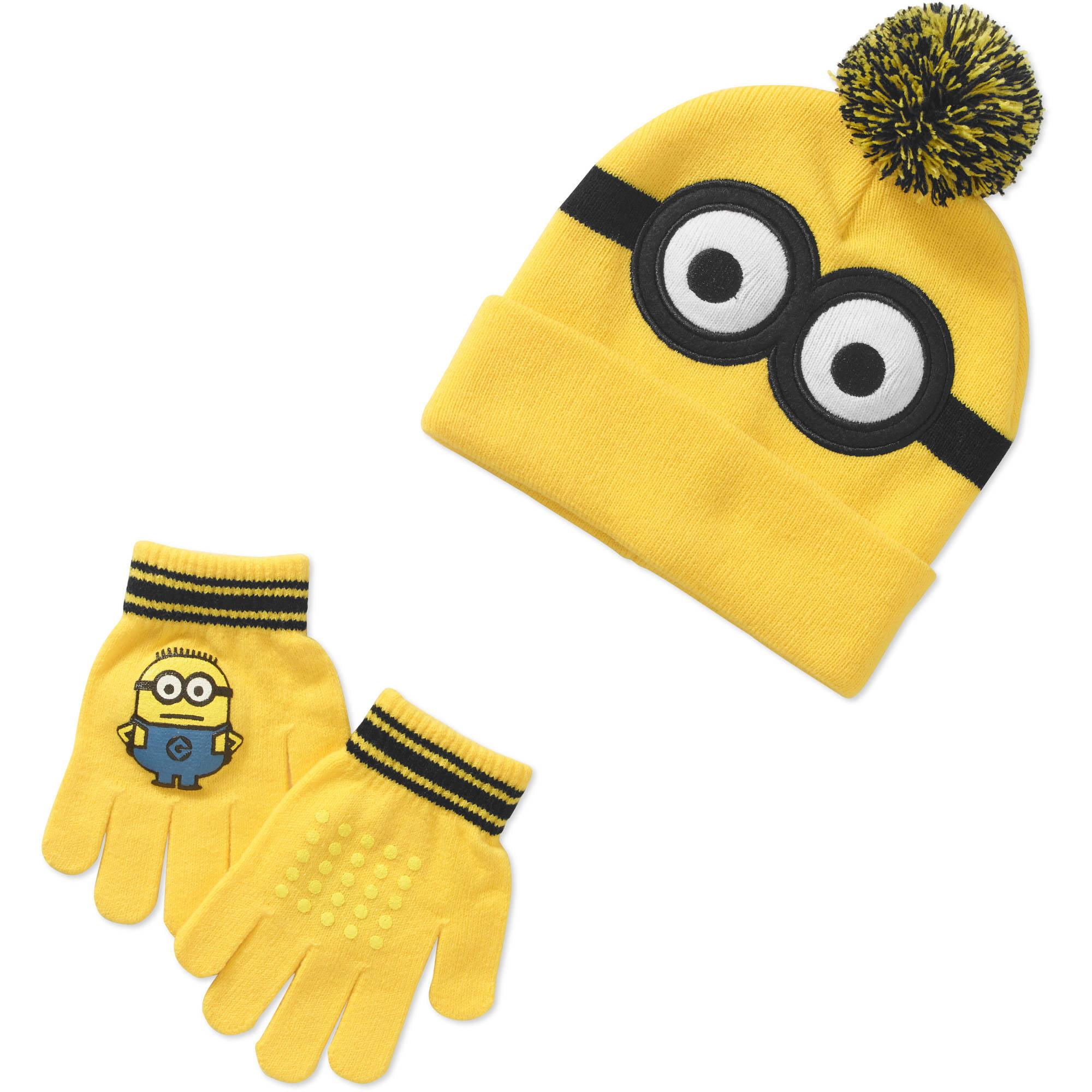 Despicable Me Boy's Hat & Glove Set