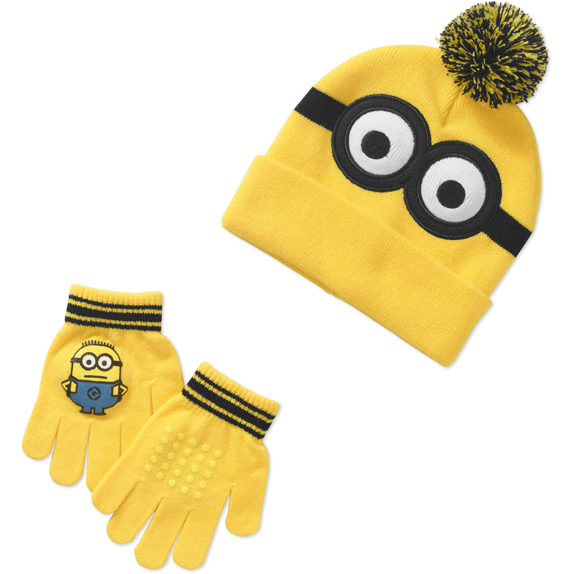 Despicable Me Boy's Hat & Glove Set