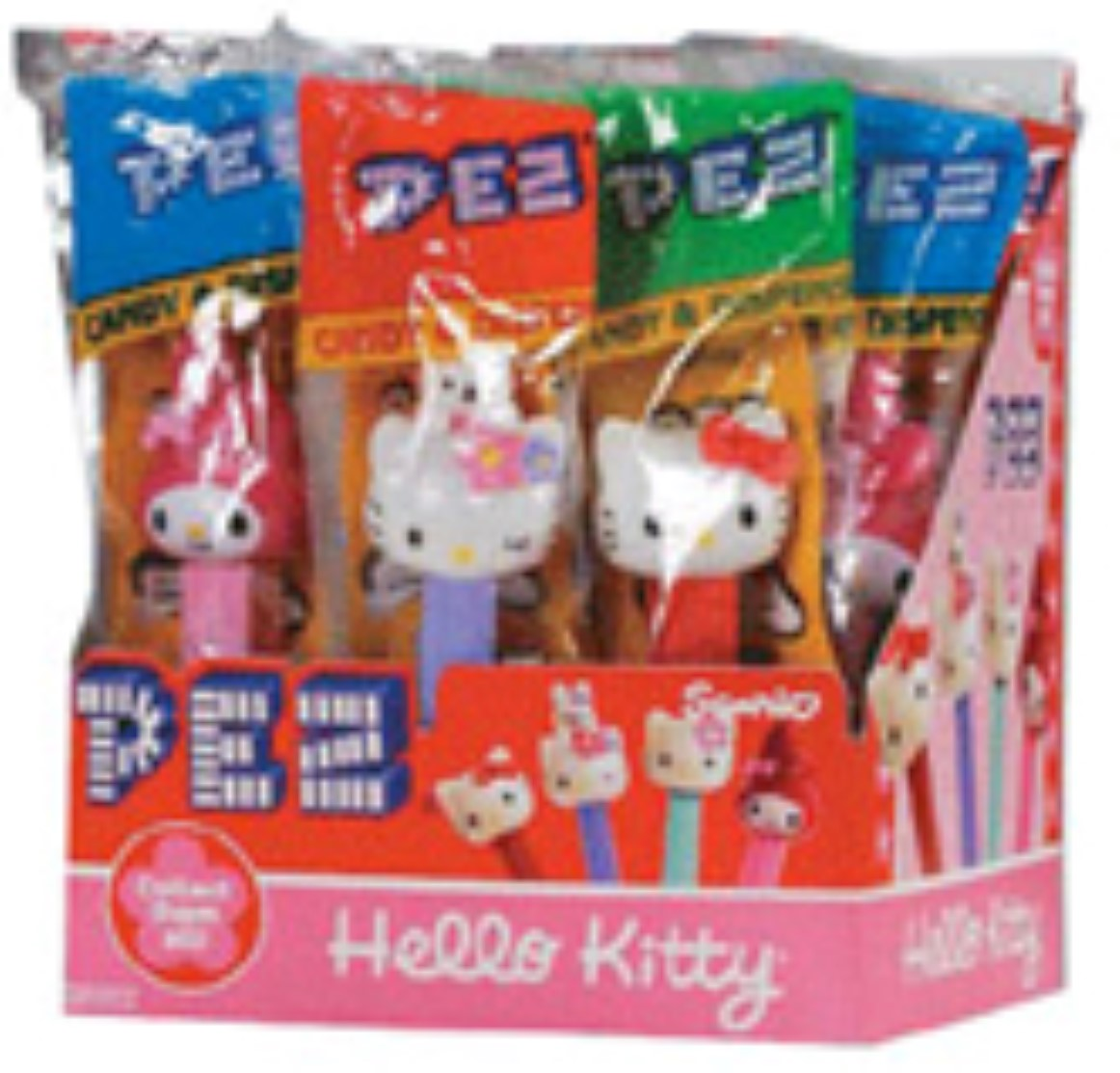 PEZ Hello Kitty Candies 12 ea (Pack of 4)