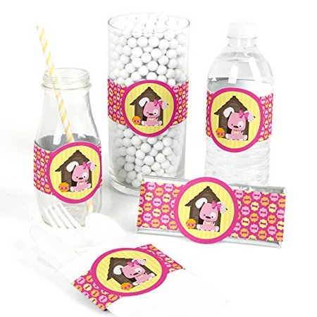 Girl Puppy Dog - DIY Party Wrapper Favors - Set of 15](Puppy Party Ideas)