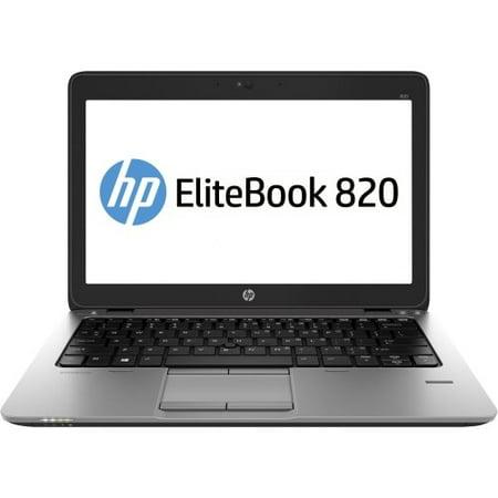 REFURBISHED Hp Elitebook 820 G1 - Core I5 4310U / 2 Ghz - Windows 7 Pro 64-Bit / 8 Pro Downgrade - Pre-Installed: Windows 7 - 4 Gb Ram - 500 Gb Hdd - No Optical Drive - 12.5
