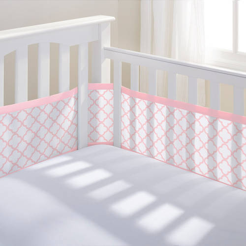 BreathableBaby Mesh Crib Liner, Multiple Colors