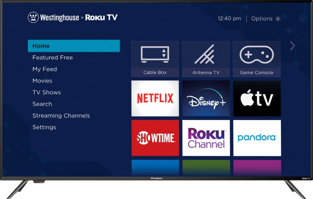 "Westinghouse 65"" Class4K (2160p) HDR Roku Smart TV"