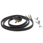 6 ft Gray 30 amp 3 Prong Range Power Cord