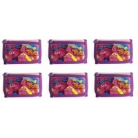 6 Piece Party Favors Dreamworks Trolls Poppy 2 Card pockets Trifold Wallet-Pink