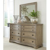 Riverside Corinne 6 Drawer Dresser with Optional Mirror