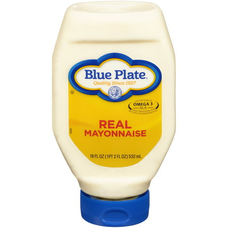Blue Plate Real Mayonnaise Squeeze, 18 Fl. Oz.