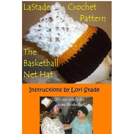 Basketball Net Hat Crochet Pattern - - Crochet Halloween Basket