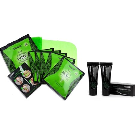 Body Wrap Gel (5 Neutriherbs 45 Min Ultimate Body Wraps Applicators + 2 Neutriherbs Body Defining Gel)