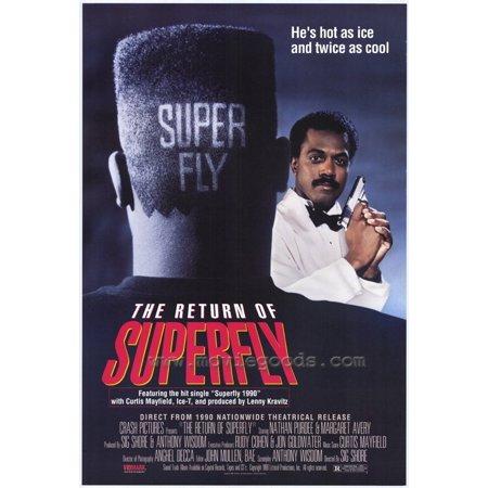 863b824358e The Return of Superfly POSTER Movie (27x40) - Walmart.com