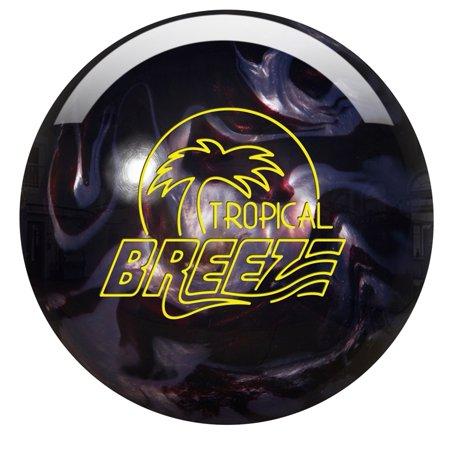 Storm Tropical Breeze PRE-DRILLED Bowling Ball- Carbon/Chrome Pearl