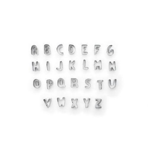 Fox Run Brands 26-Piece 1'' Alphabet Cookie Cutter Set