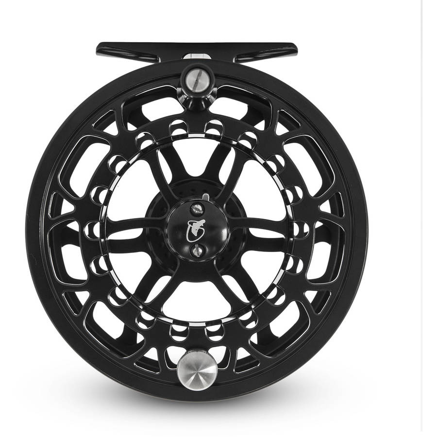 Scientific Anglers Ampere Electron IV Fly Reel, Gloss Black