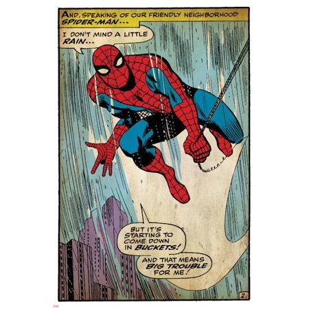Marvel Comics Retro Style Guide: Spider-Man Poster Wall