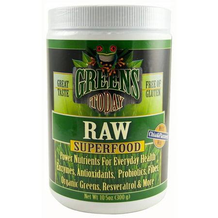 Green's Today régime brut Supplément superaliments en poudre, 10,5 OZ