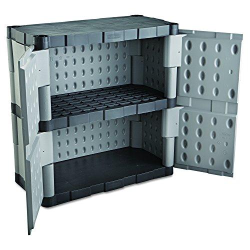 Rubbermaid Resin Storage Cabinet, Base (FG708500MICHR) - Walmart.com