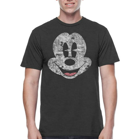 Disney Mickey Mouse Mens Sharp Mickey Graphic Tee