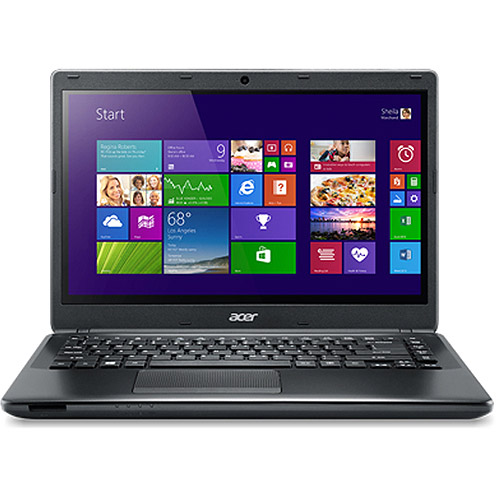 "Acer Black 15.6"" TravelMate P4 Laptop PC with Intel Core i5-4200U Dual-Core Processor, 8GB Memory, 128GB SSD and Windows 7 Professional"