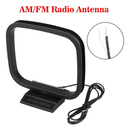 EEEkit FM AM Loop Antenna with 2 Pin Bare Wire Connector for Sony Sharp Stereo AV Receiver