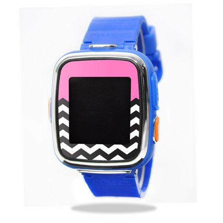 Mightyskins Protective Vinyl Skin Decal For Vtech Kidizoom Smartwatch Dx Wrap Cover Sticker Skins Pink Chevron