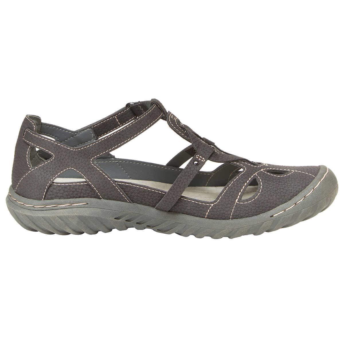 5c20919614db4 JBU by Jambu Ladies' Sydney Sandal/Flat Sandals for Women - Charcoal 7