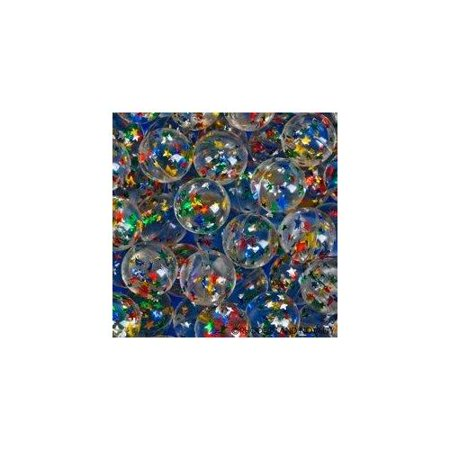 100ct 32mm Glitter Star Super Bouncy Ball](Bouncing Balls Noise)