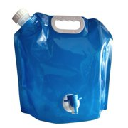 Home Outdoor Folding Portable Water Bag With Faucet Car Water Storage Bag Bucket Emergency Water Bag Sports Riding Bottle