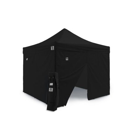 Impact Instant Canopy Aol 10X10 Ez Pop Up Canopy Tent Aluminum Commercial Instant Shelter W Sidewalls