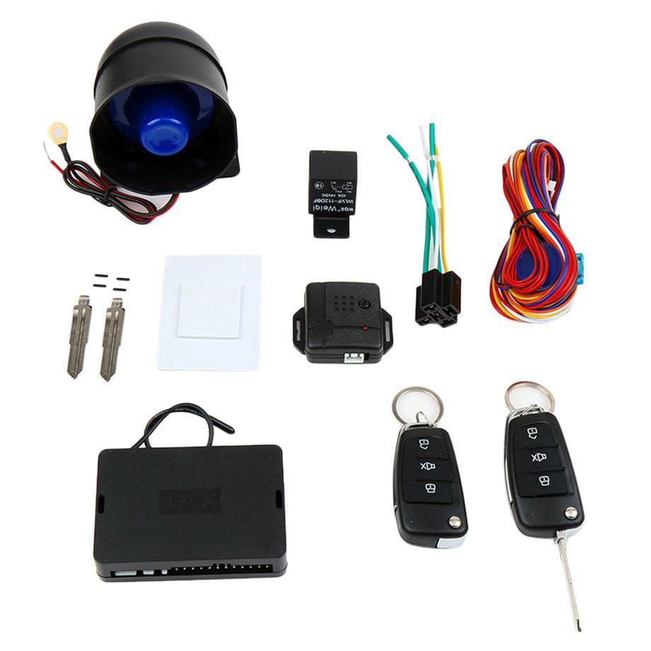 CARSFORM CH888 Car Alarm System Kit One Way Vehicle Burglar Anti-theft Devices