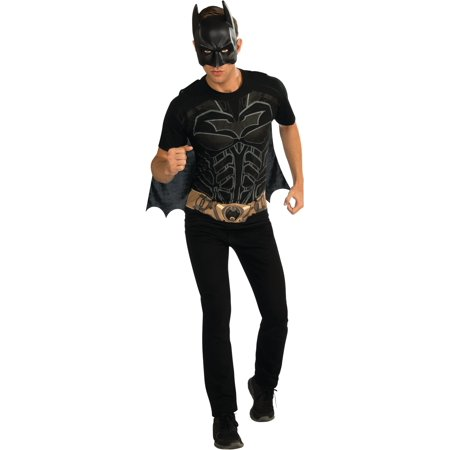 Adult Mens DC Batman The Dark Knight Costume T-shirt - Batman Costumes Adult