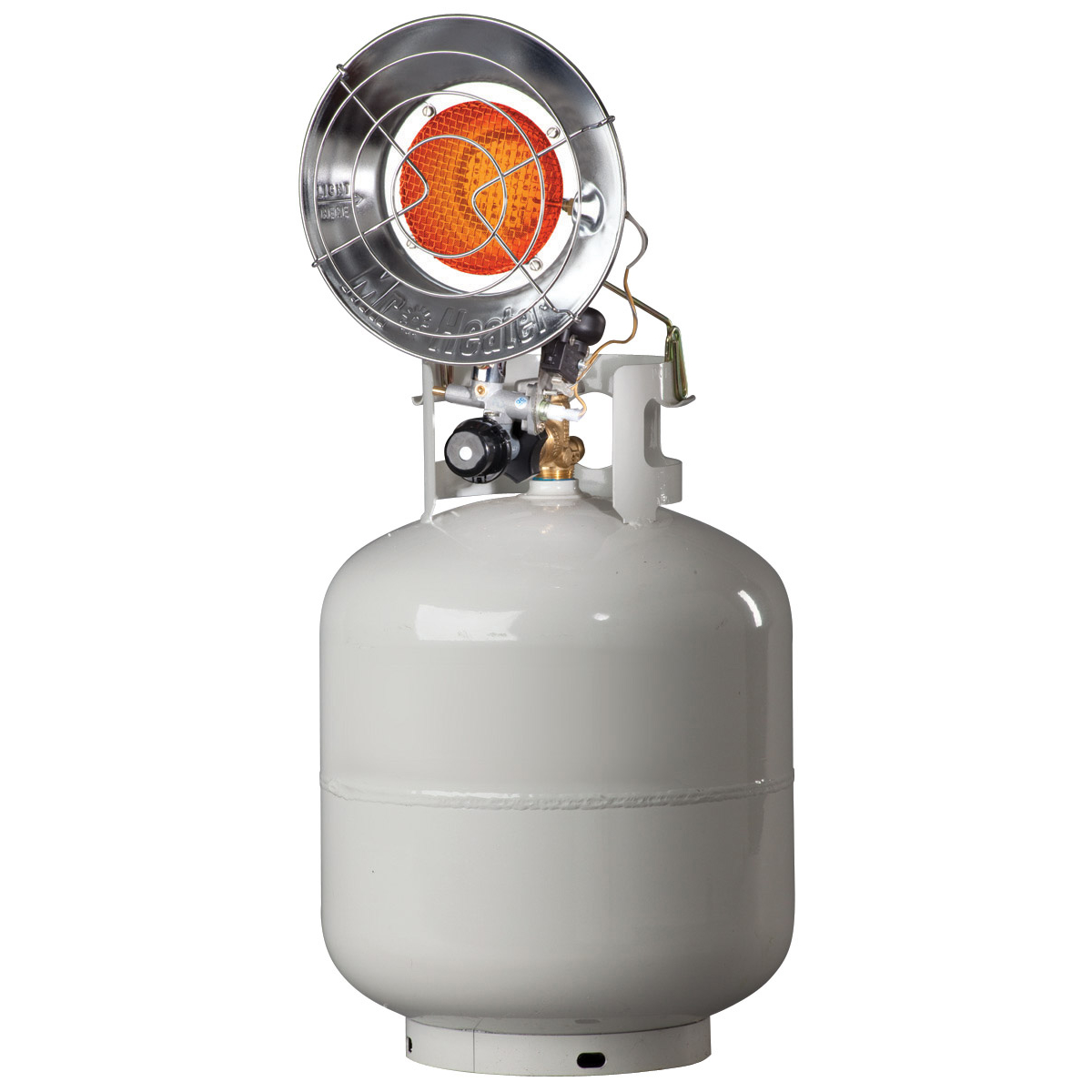 Mr Heater F242105 10-15K BTU Spark Ignition Tank Top Propane Patio Heater