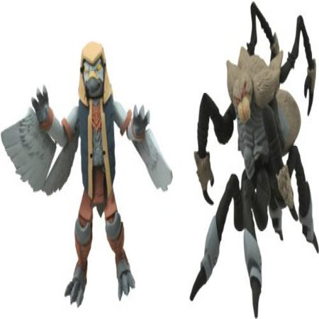 Diamond Select Toys Battle Beasts Minimates Series 1: Merck and Spider, (Select Breast Pump)