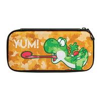 PDP Nintendo Switch Camo Slim Travel Case Super Mario Bros Yoshi Edition, 500-108