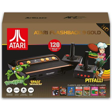 Atari Flashback 9 Gold HD - Classic Game Console -