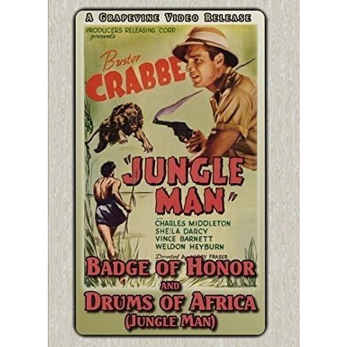Badge of Honor (1934)   Jungle Man (1941) by