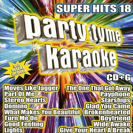 Party Tyme Karaoke - Super Hits 18 (CD)
