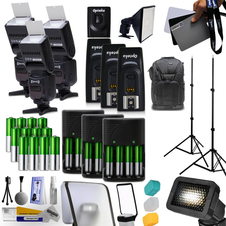 Opteka SpeedLight Power Zoom Flash 18-180mm All You Need ...