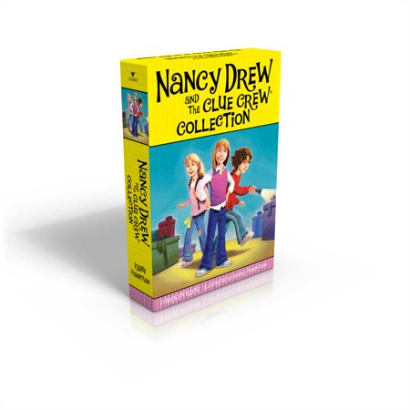 The Nancy Drew and the Clue Crew Collection: Sleepover Sleuths; Scream for Ice Cream; Pony Problems; The Cinderella Ballet Mystery; Case of the Sneaky Sno (Paperback) (Halloween Nancy Drew)