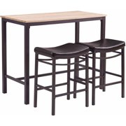 Linon Betty 3-Piece Pub Set including Table and 2 Stools by Linon