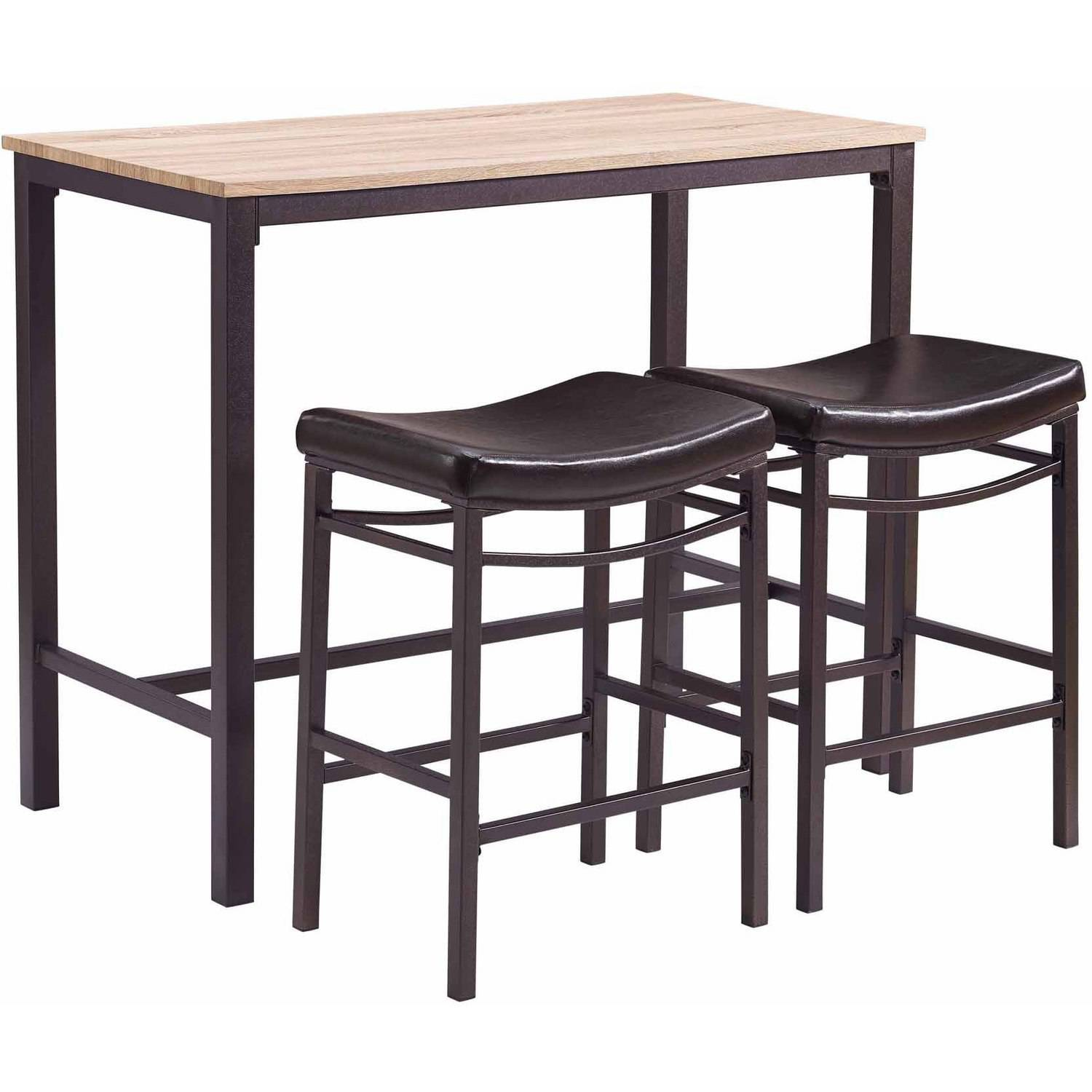 Linon Betty 3-Piece Pub Set including Table and 2 Stools