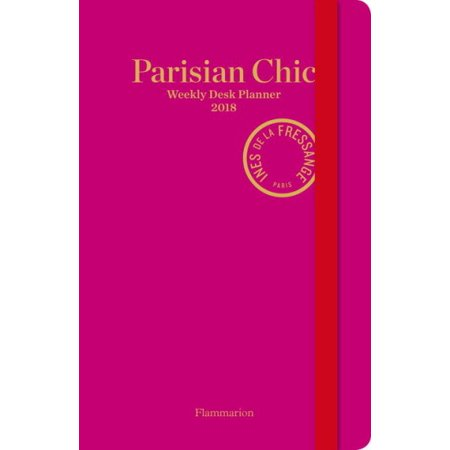 Parisian Chic Weekly Desk Planner 2018
