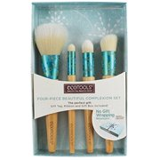 ecotools-cruelty free four piece beautiful complexion set 4 count-mattifying finish, skin perfecting, eye perfecting, correcting concealer